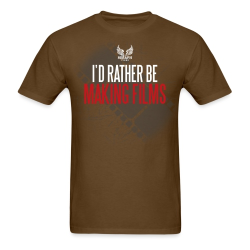 Id Rather Be Making Films png - Men's T-Shirt