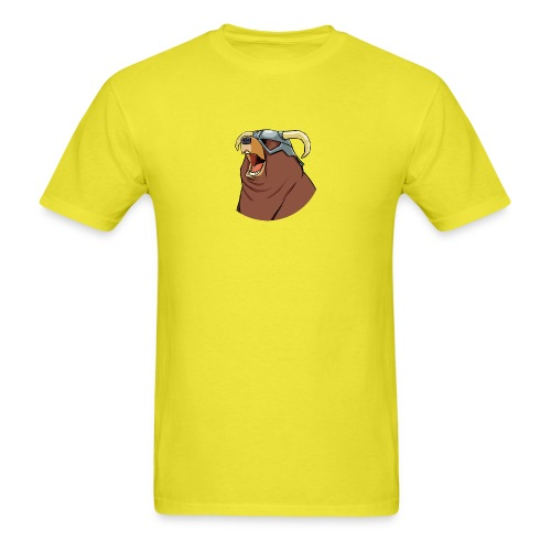 happy dovah pin png - Men's T-Shirt