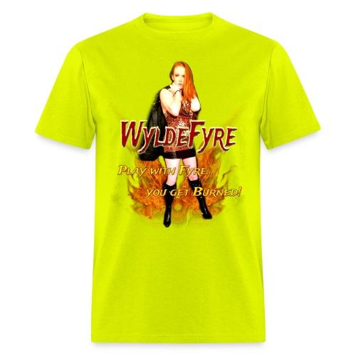 WyldeFyre (Design 2) - Men's T-Shirt