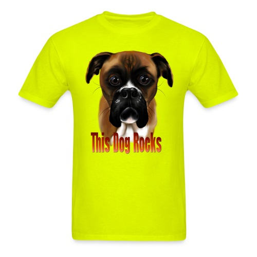 This Dog Rocks - Men's T-Shirt