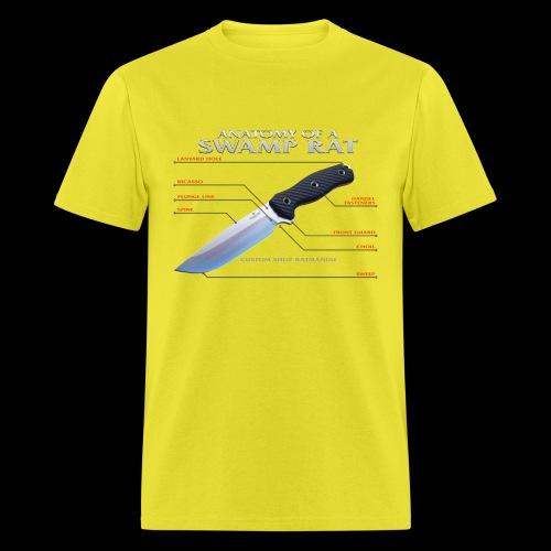 Anatomy of a Swamp Rat - Men's T-Shirt