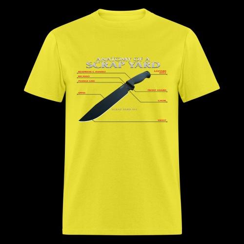 Anatomy of a Scrap Yard - Men's T-Shirt