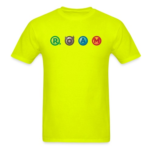ROAM letters - Men's T-Shirt