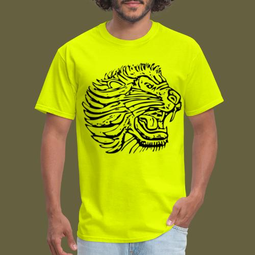 Cent Lion Head Black - Men's T-Shirt