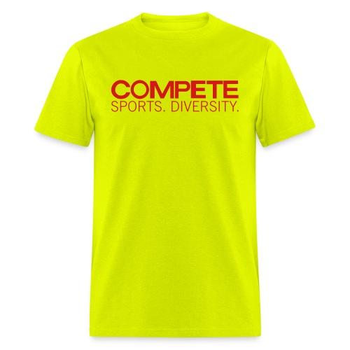 speadshirt compete logo red - Men's T-Shirt