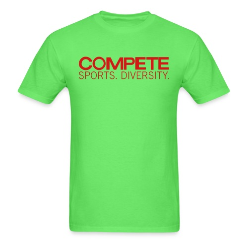 speadshirt compete logo red - Men's T-Shirt