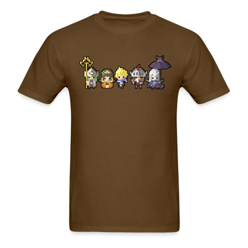 Half Minute Hero characters - Men's T-Shirt
