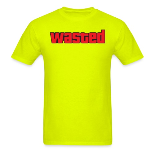 Wasted GTA - Men's T-Shirt