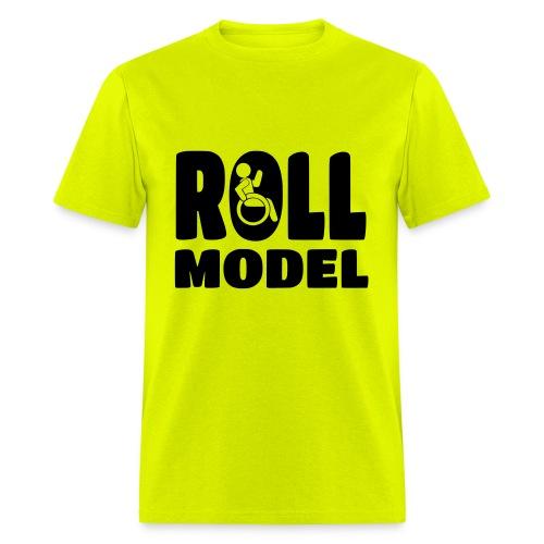 Wheelchair Roll model - Men's T-Shirt