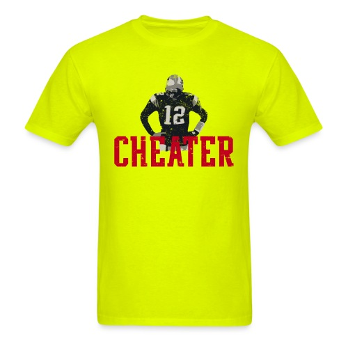 CHEATER - Men's T-Shirt