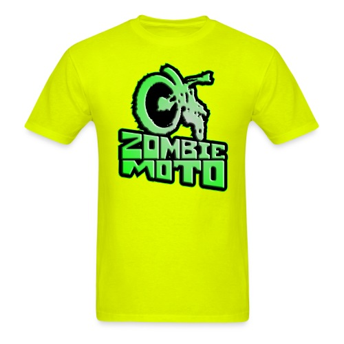 zombie moto shirt 2 - Men's T-Shirt