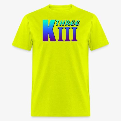 KThreeThree Logo - Men's T-Shirt