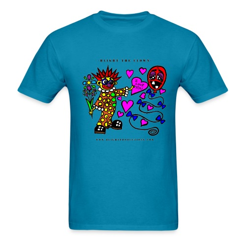 Blight the Clown Loves You! - Men's Shirt - Men's T-Shirt
