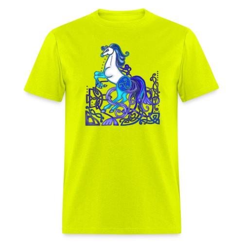 Celtic Horse Silver Blue - Men's T-Shirt