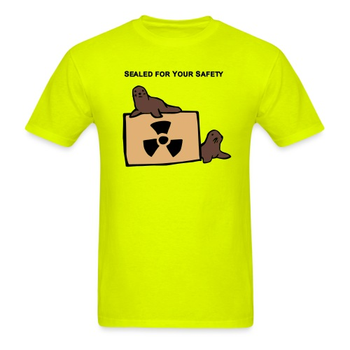sealed for your safety - Men's T-Shirt