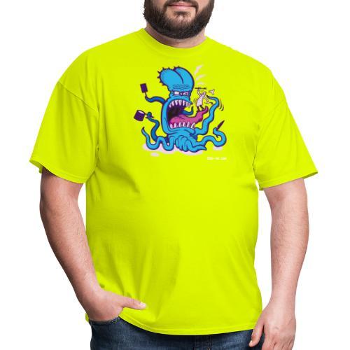 Powder blue Extreme Cooking Long Sleeve Shirts - Men's T-Shirt