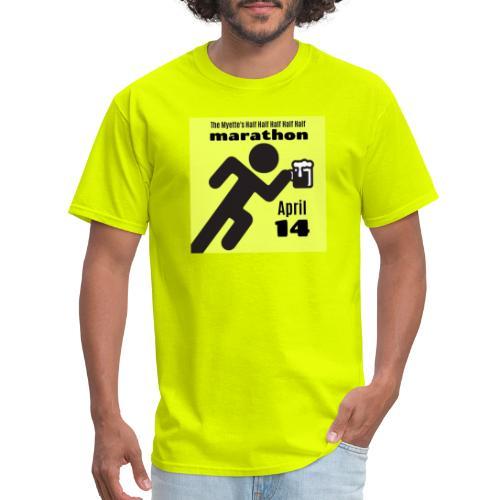 2019 Myette's 1/2 1/2 1/2 1/2 1/2 Marathon Race - Men's T-Shirt