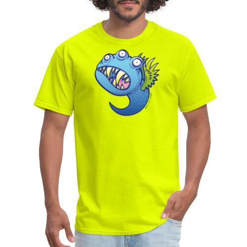 Winged little blue monster - Men's T-Shirt