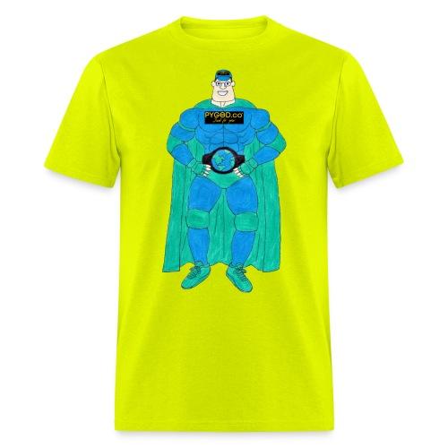 PYGOD Man - PYGOD.co Mascot - Men's T-Shirt