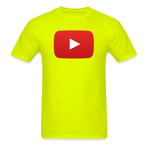YouTube icon full color png - Men's T-Shirt