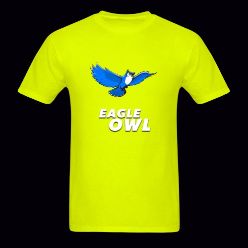 owlflyingblue - Men's T-Shirt
