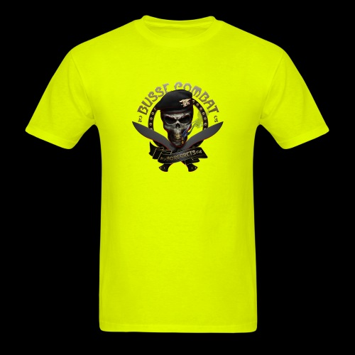 Busse Combat Skull Cigar - Men's T-Shirt