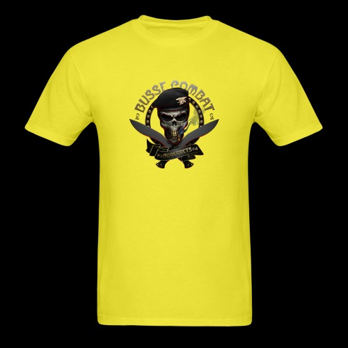 Busse Combat Skull Cigar - Men's T-Shirt
