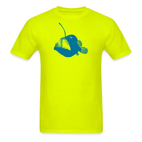 anglerfish frogfish sea devil deep sea angler - Men's T-Shirt