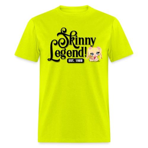 Skinny Legend_onwhite - Men's T-Shirt