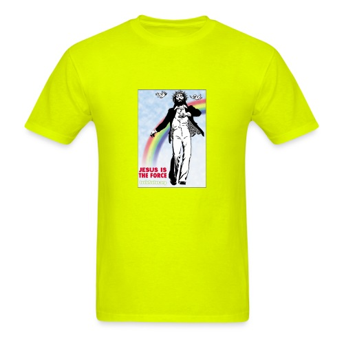 Jesus is Dancing on Popular Culture - Men's T-Shirt