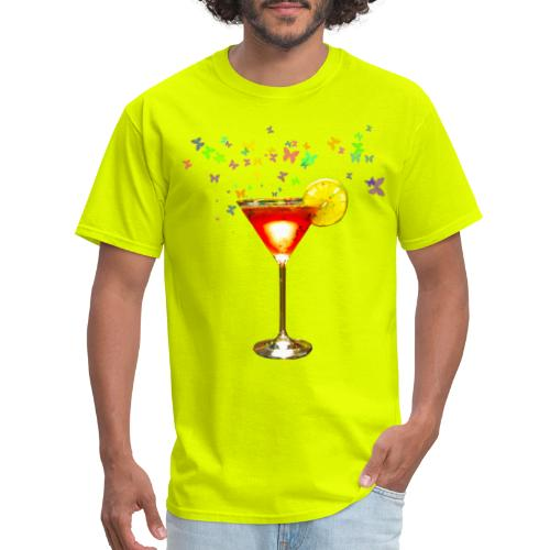 Cosmopolitan cocktail print - Men's T-Shirt