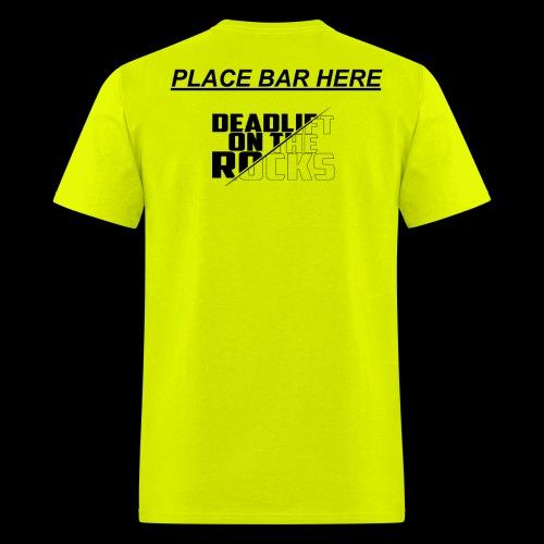 PLACE BAR HERE - Men's T-Shirt