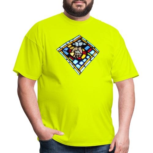 Stained Glass hand of god - Men's T-Shirt