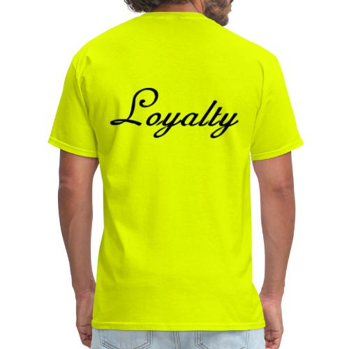 Loyalty Brand Items - Black Color - Men's T-Shirt