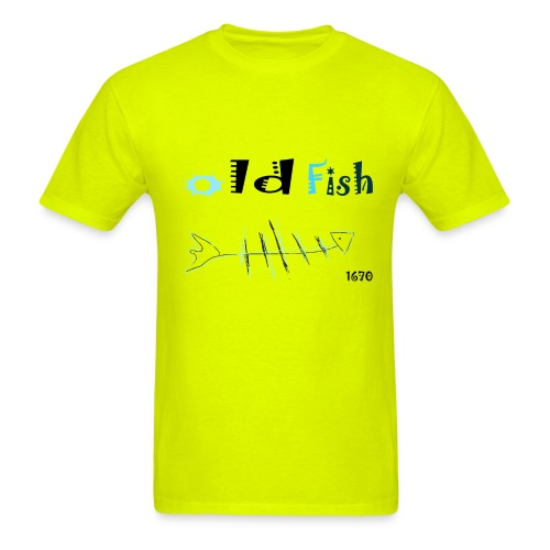 old fish - Men's T-Shirt