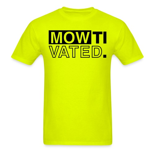 mowtivated graphic - Men's T-Shirt