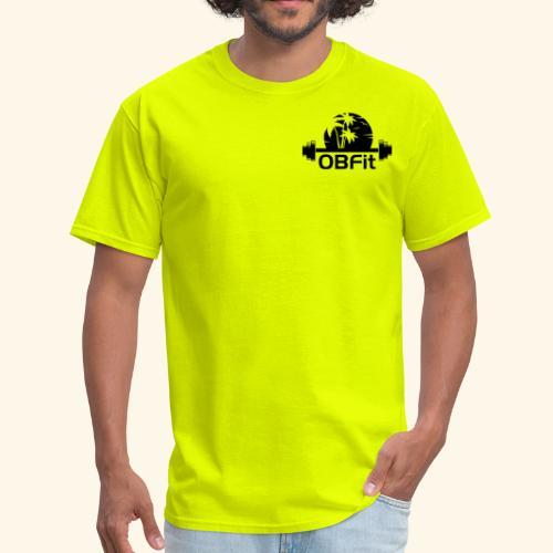 OB Fit Black - Men's T-Shirt