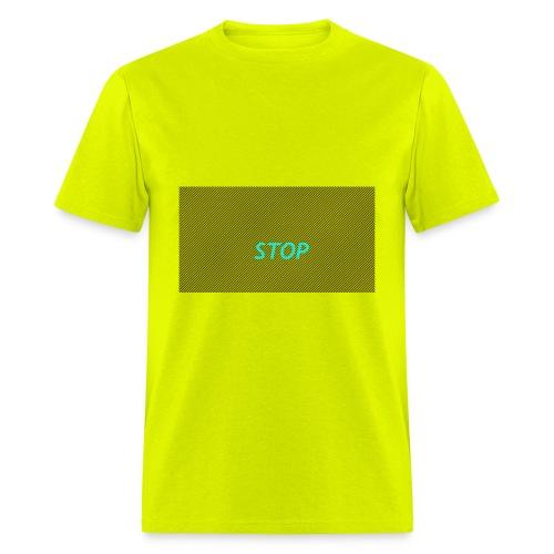 STOP shirt - Men's T-Shirt