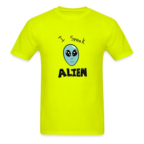 I speak Alien - Men's T-Shirt