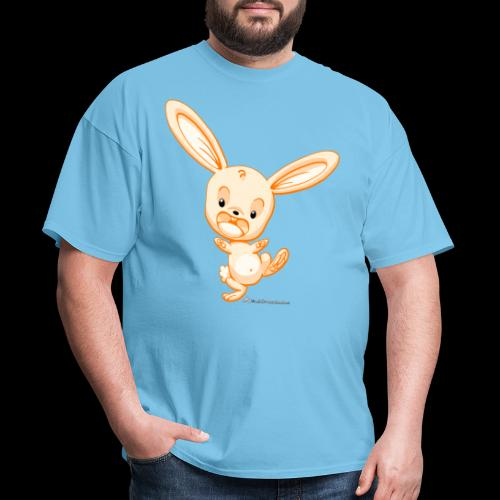 Orange Bunny - Men's T-Shirt