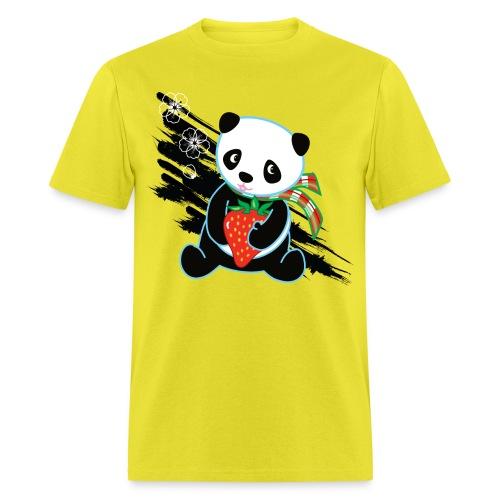 Cute Kawaii Panda T-shirt by Banzai Chicks - Men's T-Shirt