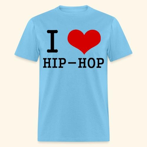 I love Hip-Hop - Men's T-Shirt