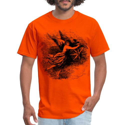 Angel at the helm - Men's T-Shirt