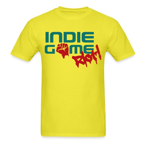 62069 Indie Game Riot png - Men's T-Shirt