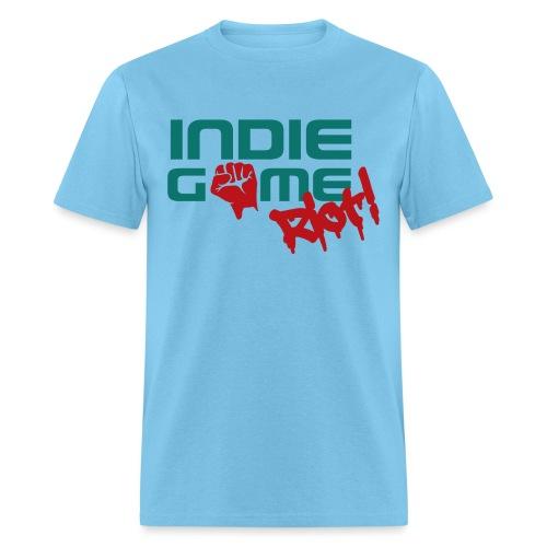 62069 Indie Game Riot png - Men's T-Shirt