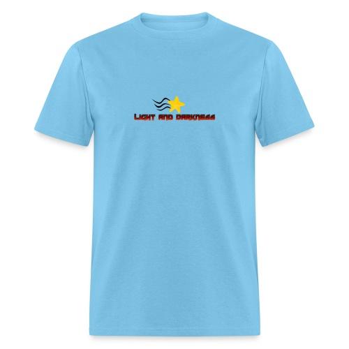 LightandDarkness NoBackground png - Men's T-Shirt