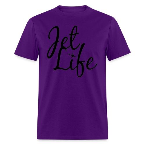 jetlifelogo - Men's T-Shirt