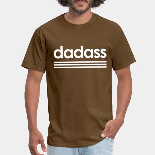 dad dadass badass - Men's T-Shirt