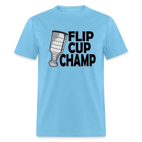 flip cup champ berlin font - Men's T-Shirt