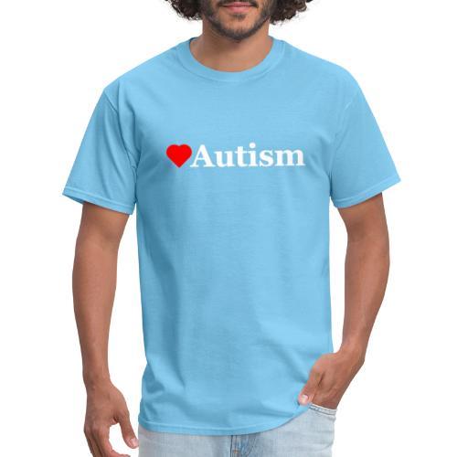 Heart Autism w - Men's T-Shirt